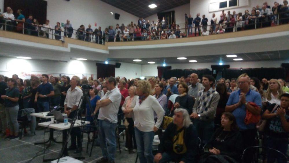 Gino Strada e Marco Ravelli esaltano gli abitanti di Viguzzolo