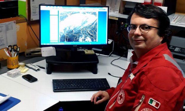 Partono da Mauro Grazioli,  volontaria di Voghera le previsioni del tempo usate dalla provincia di Pavia