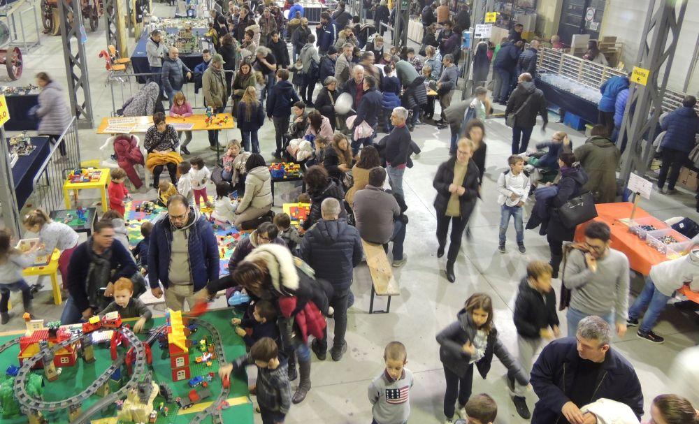 Tortona Brick al Museo Orsi: i bambini giocano e gli adulti ammirano qualcosa di molto bello. Fino a domenica sera e gratis!