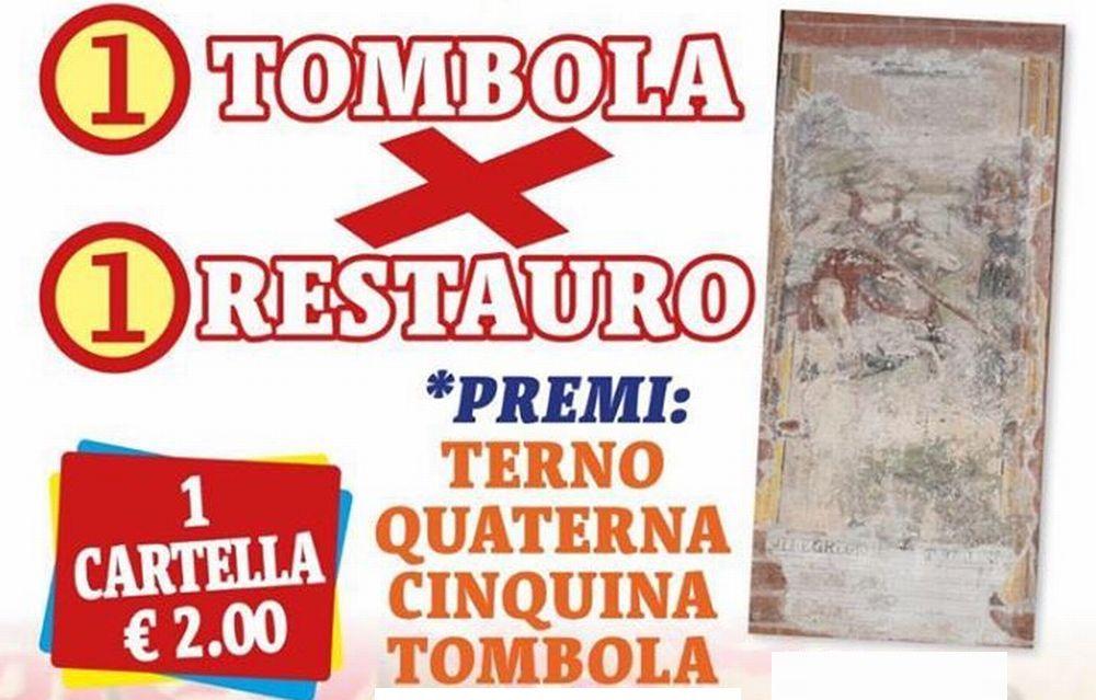"""Domenica a Pontecurone una tombola per finanziare il restauro del """"San Giorgio e il drago"""" dipinto murale del 1530"""