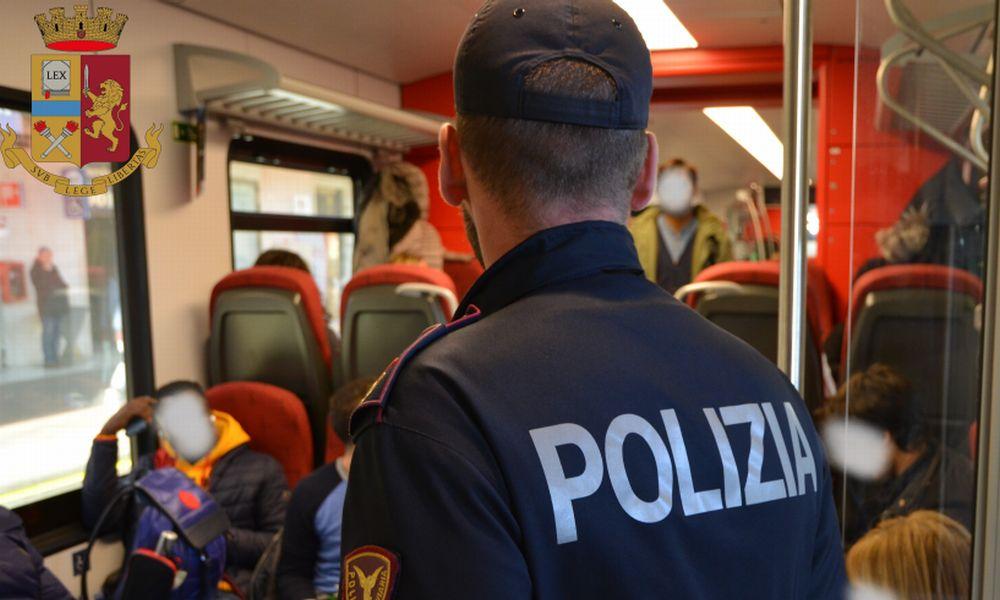 La polizia di stato contro i comportamenti illeciti in ambito ferroviario