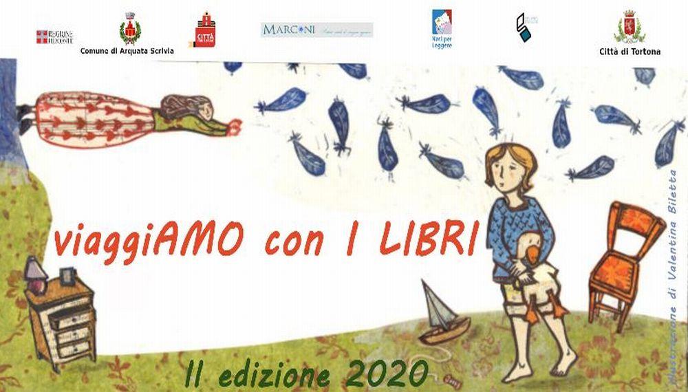 """Tortona propone """"Viaggiamo con i libri"""" iniziativa rivolta ad insegnanti e bibliotecari, ma aperta anche al pubblico"""