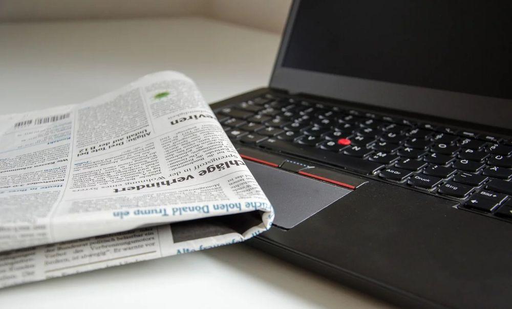 L'incongruenza di alcuni giornali locali che prendono foto da siti la cui riproduzione è riservata e vietano ad altri di prenderle