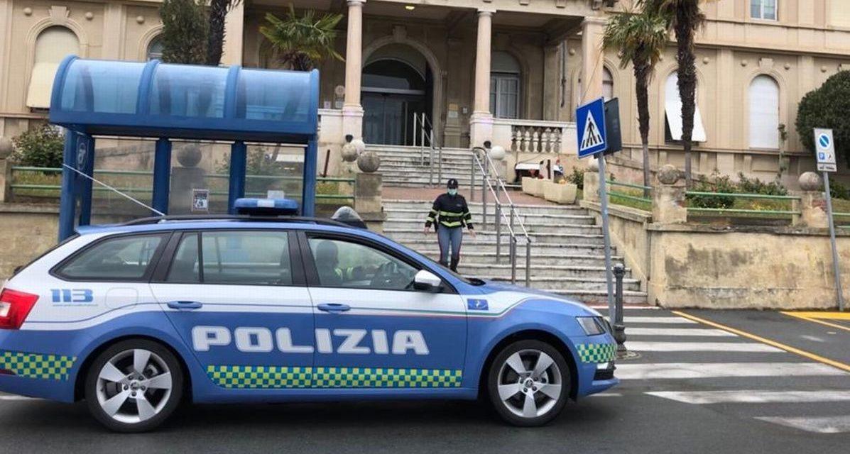 Grave incidente a Ventimiglia, interviene la Polstrada
