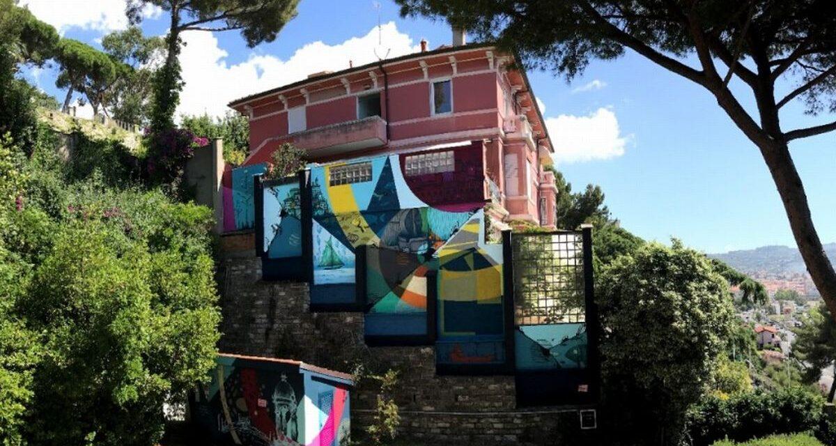 Imperia, riaprono i musei cittadini e a Villa Faravelli spunta un nuovo murales