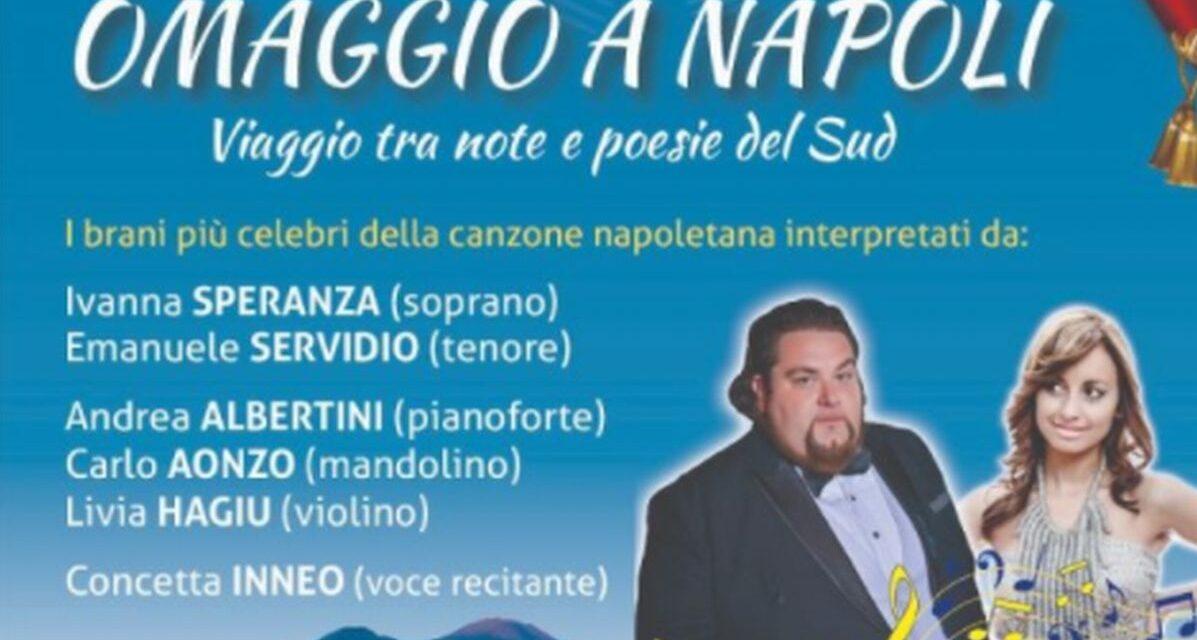 Giovedì 27 l'ultimo spettacolo dell'Emd Festival: la canzone napoletana protagonista a Diano Marina