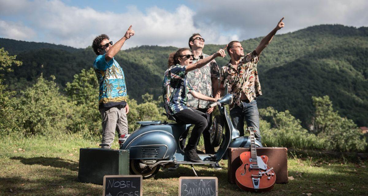 Venerdì ad Arquata Scrivia serata rock col gruppo Nobel goes bananas, prenotatevi