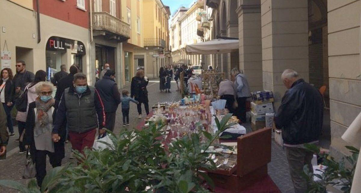 Domenica d'altri tempi a Tortona con grande  successo delle iniziative organizzate dal Comune nel rispetto delle norme anti covid