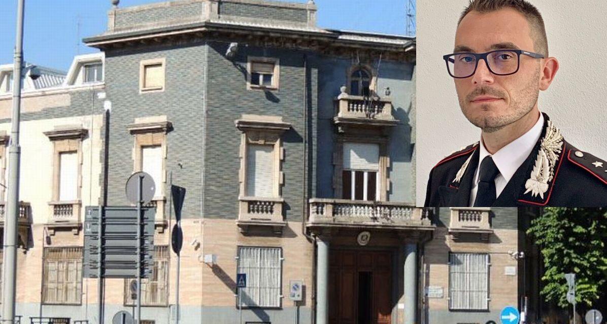 Tortona ha un nuovo comandante dei Carabinieri, è il capitano Domenico Lavigna, molto apprezzato in Emilia. Ecco chi è