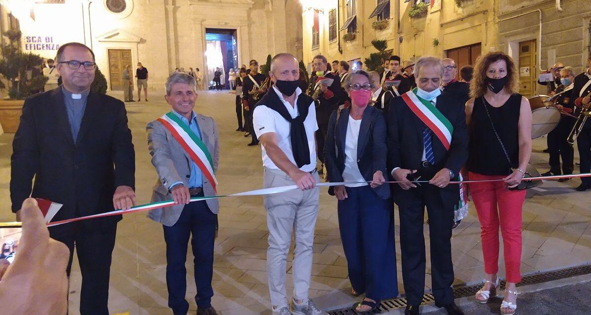 Serravalle Scrivia, al via la riqualificazione del centro storico. Inaugurata venerdì Piazza del Municipio