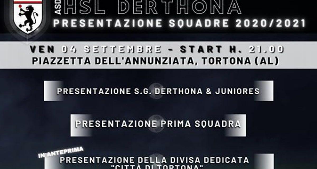 Venerdì si presenta il nuovo Hsl Derthona con la maglia dedicata alla città di Tortona