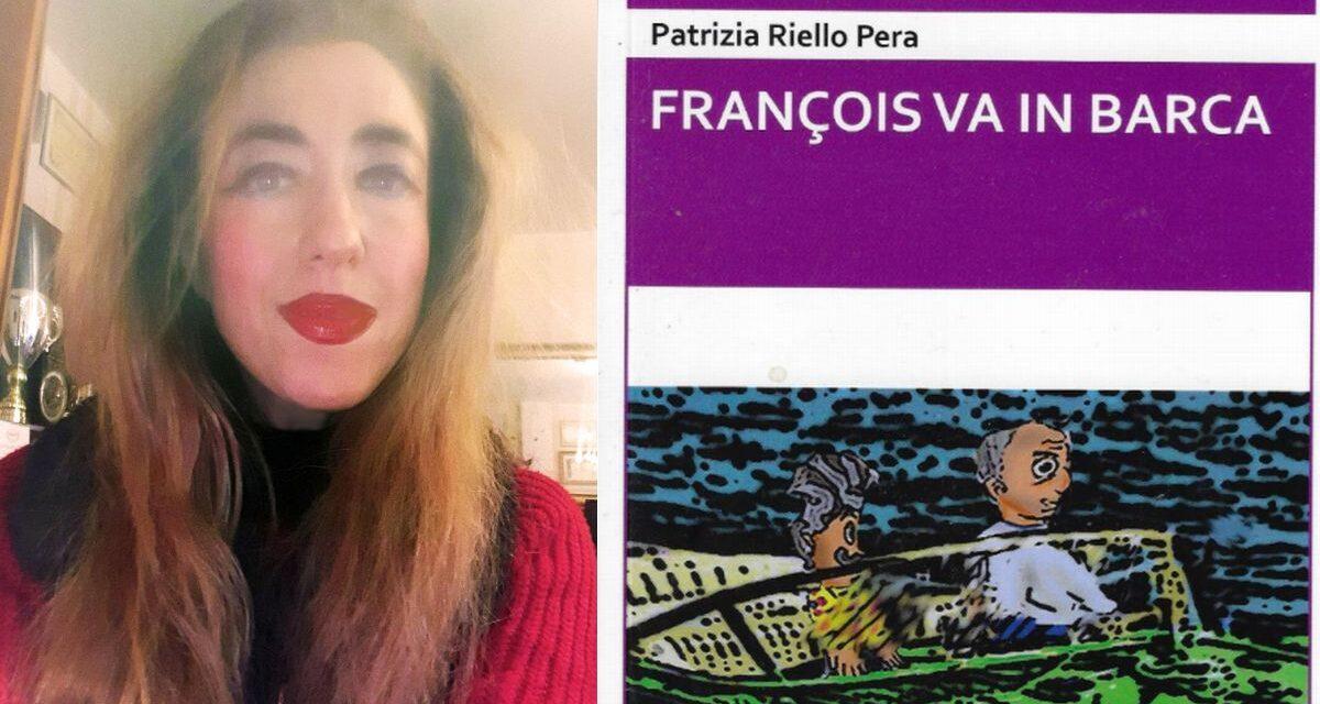 """Il nuovo libro con la tecnica del fumetto di Patrizia Riello Pera: """"François va in barca"""""""