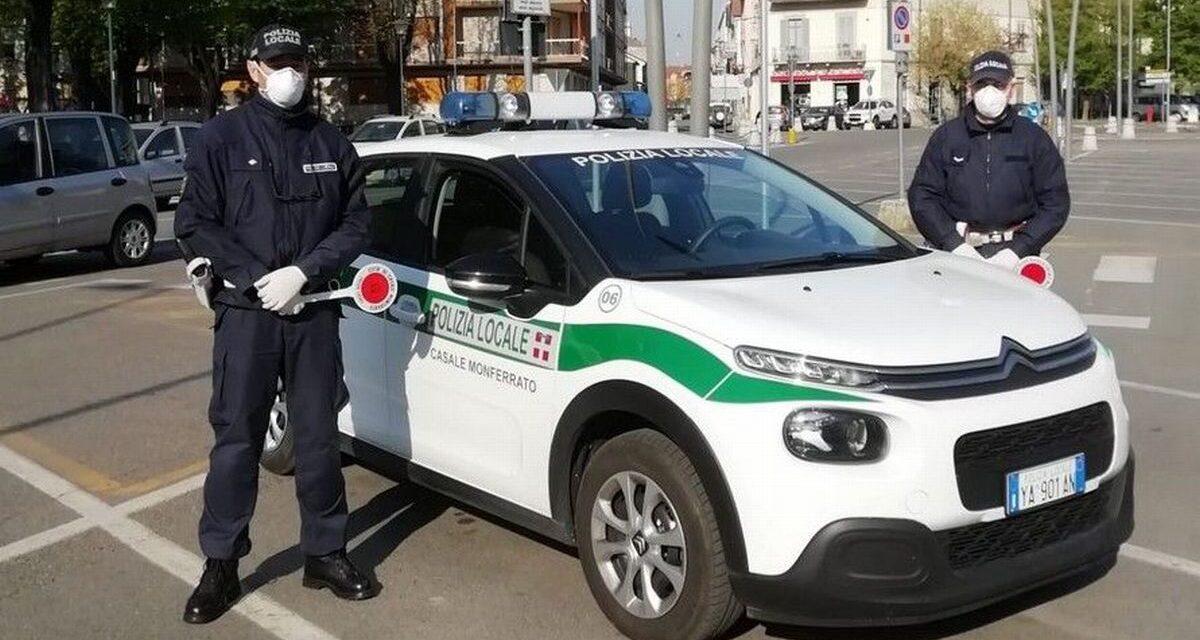 A Casale Monferrato la Polizia locale interviene per sedare una violenta lite