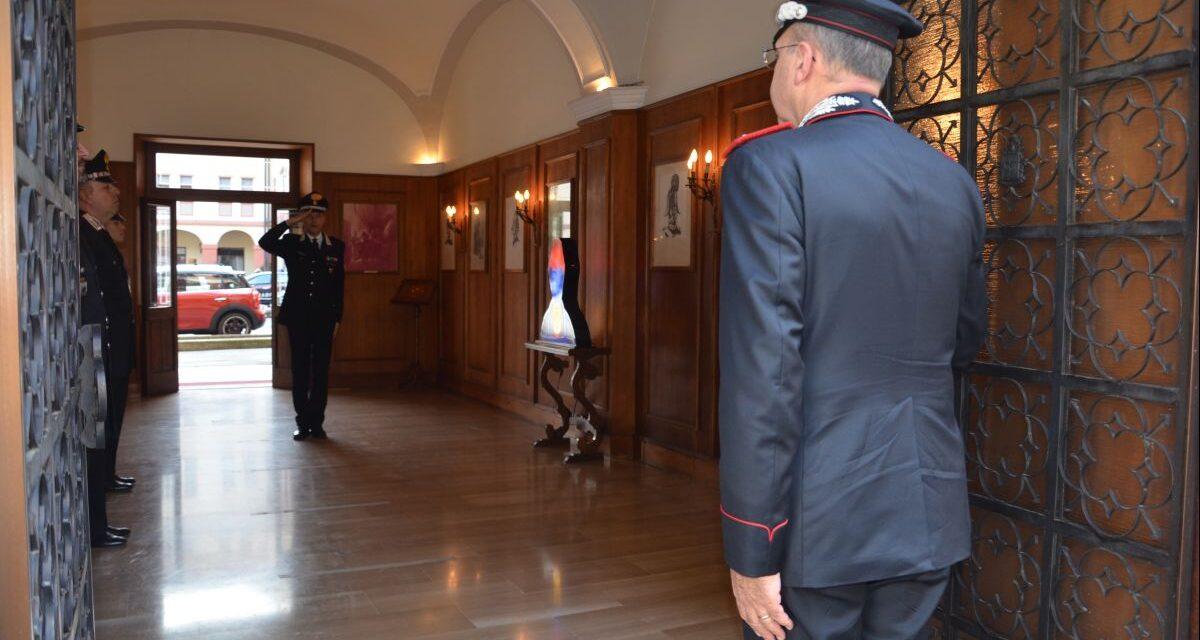 Il Comandante Interregionale Claudio Vincelli, visita il Comando Provinciale Carabinieri di Alessandria