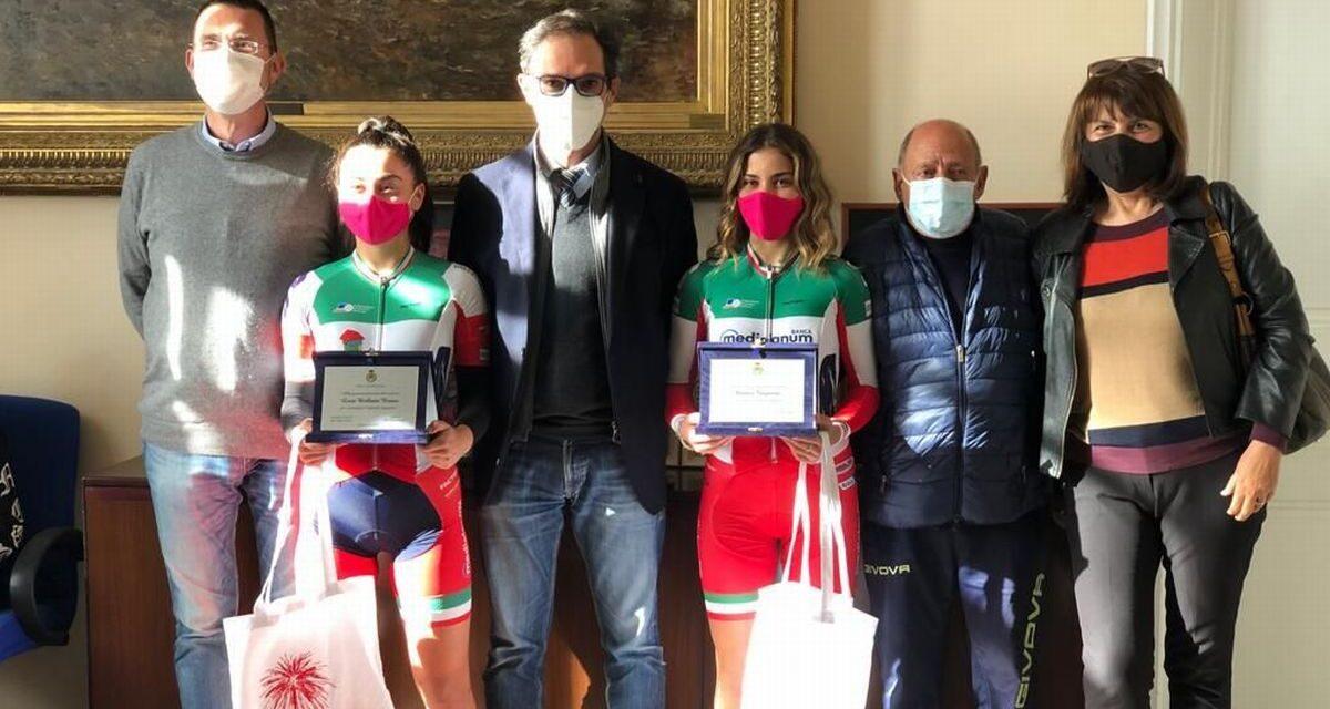 A Bordighera premiate due giovani promesse dello sport
