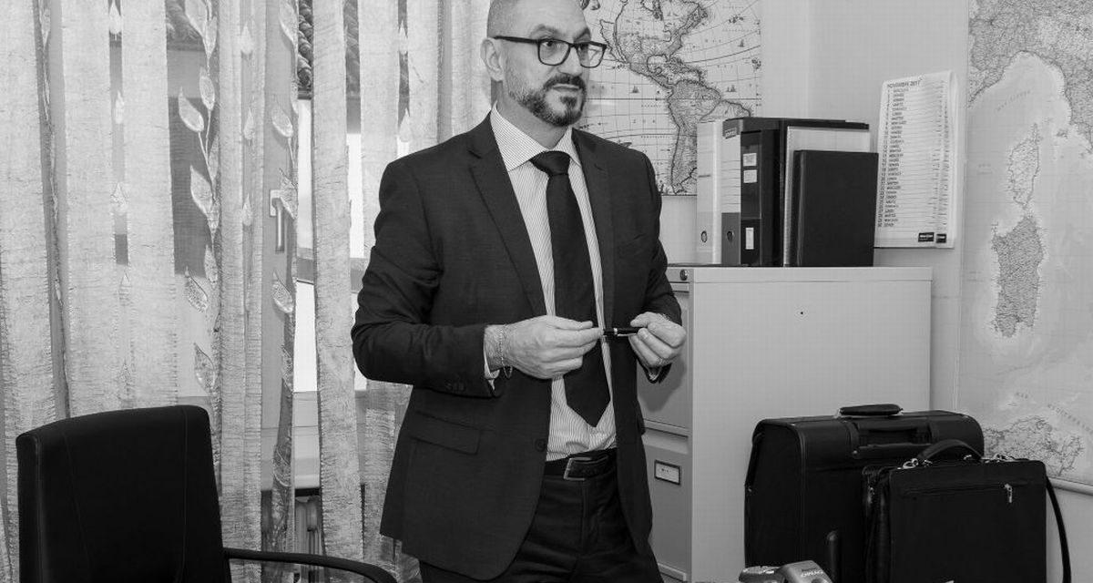 Il tortonese Gian Luca Lavezzo, vice presidente Usarci, spiega l'importanza di questa Associazione