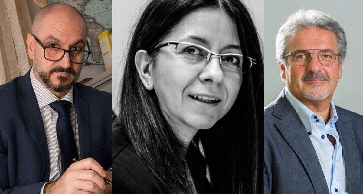 Tre tortonesi ai vertici dell'Usarci di Alessandria-Asti: sono Gianluca Lavezzo, Orietta Pinton e Mario Salvarezza