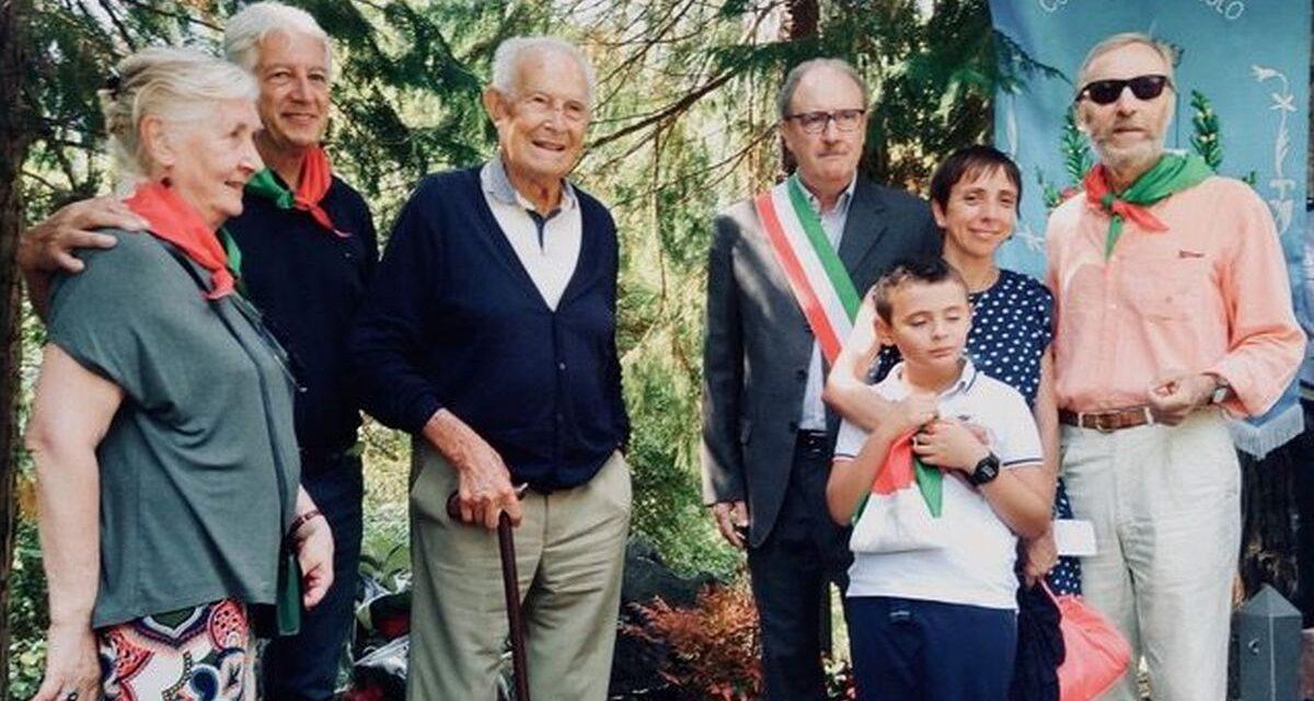 La Senatrice Liliana Segre ricorda il partigiano Tortonese che avrebbe compiuto cent'anni oggi