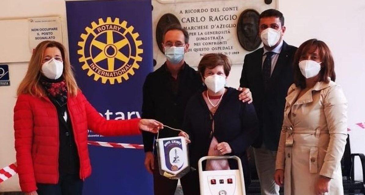 Il Rotary Club di Novi Ligure ha donato un sanificatore per il laboratorio analisi e microbiologia all'ospedale San Giacomo