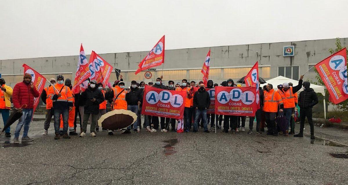 Successo della sciopero della Logistica alla frazione Spinetta Marengo di Alessandria