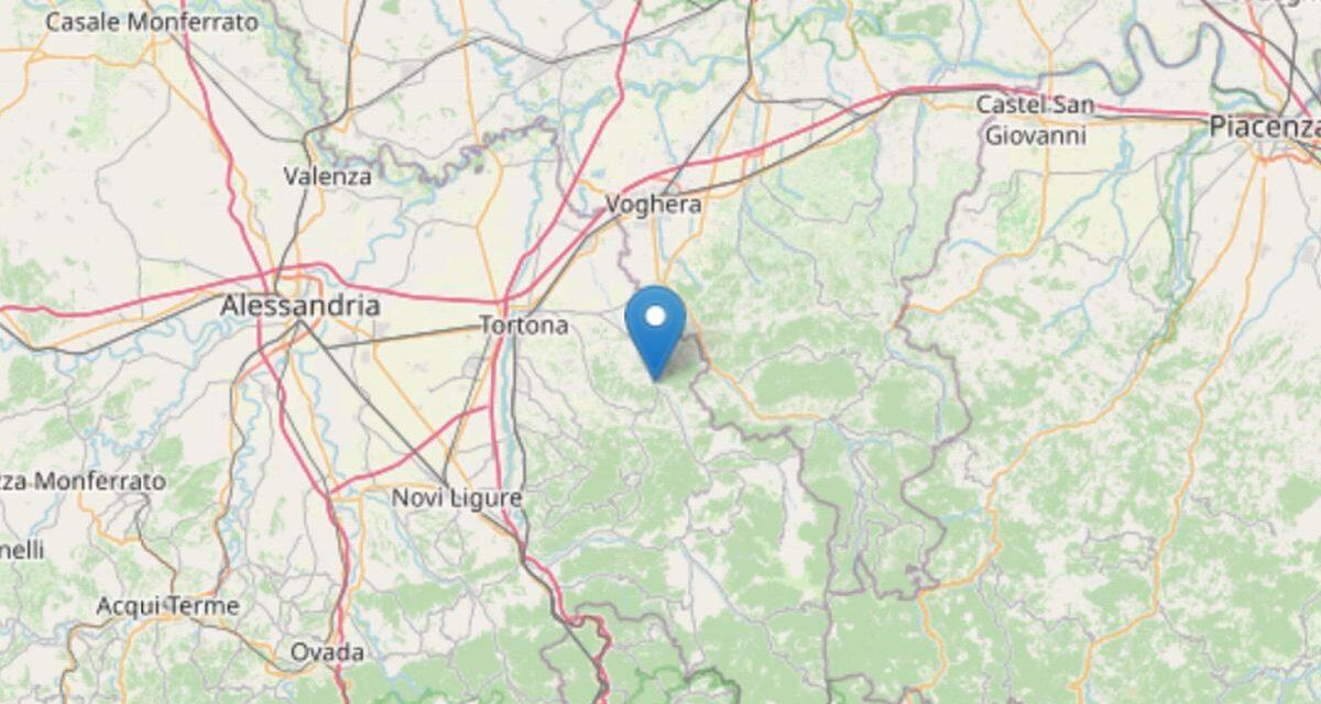 Due scosse di terremoto in Val Curone con epicentro a Volpeglino e Montemarzino