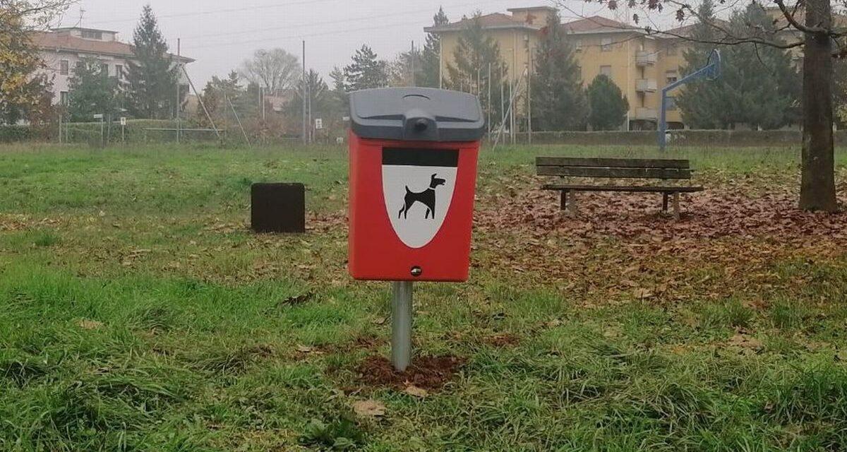 Gestione Ambiente installa cestini per le deiezioni canine a Novi Ligure. Ecco dove