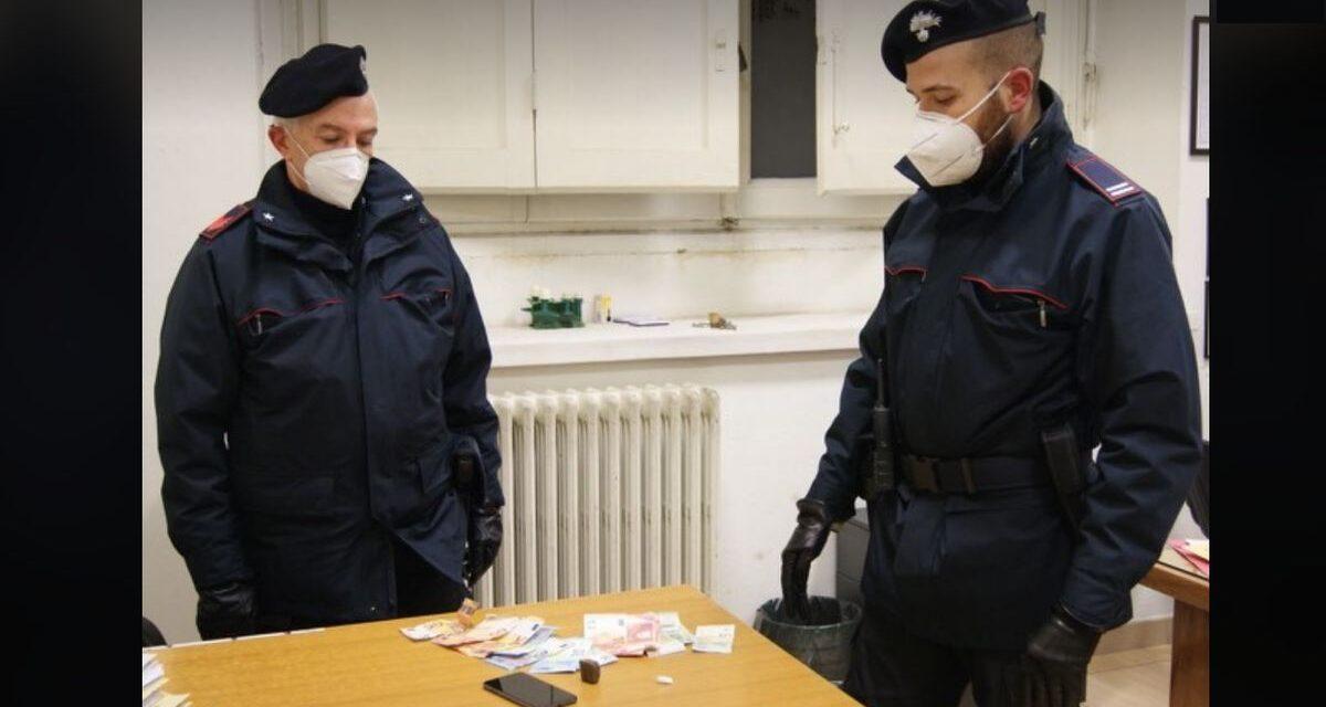 Droga a Tortona, problema da non sottovalutare e i Carabinieri arrestano uno spacciatore