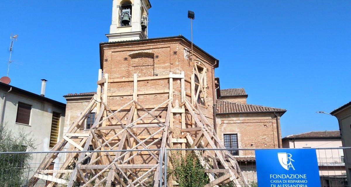 Non ci sono soldi a sufficienza per tutti i restauri della chiesa di San Martino a Carbonara Scrivia, pronta una nuova raccolta fondi