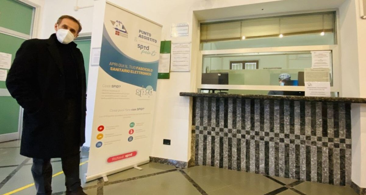 All'ASL di Alessandria il primo Sportello di Punto Assistito (SPA) per attivare SPID e Fascicolo Sanitario Elettronico