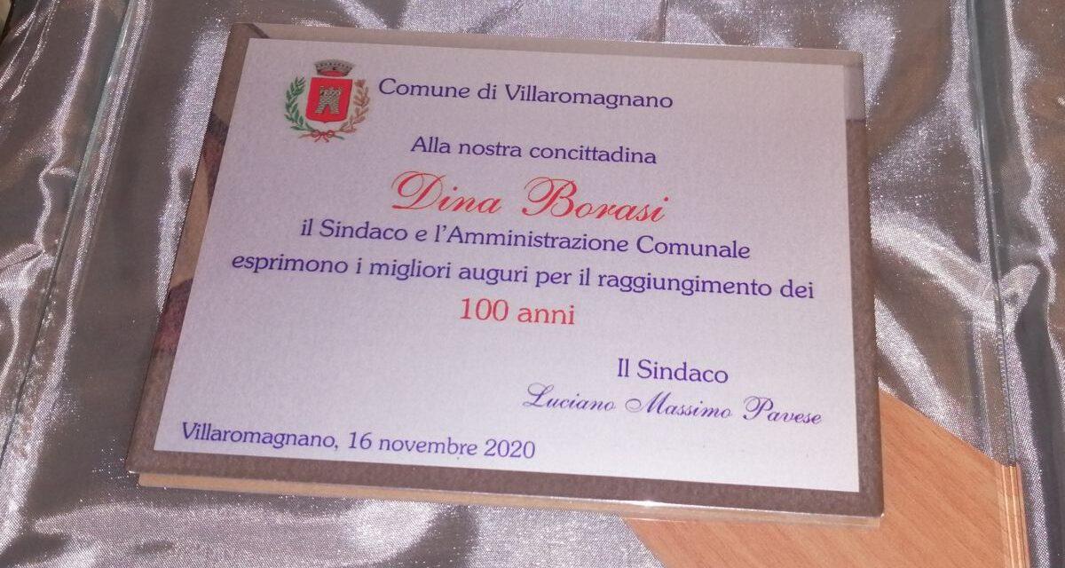 Festeggiata una centenaria a Villaromagnano
