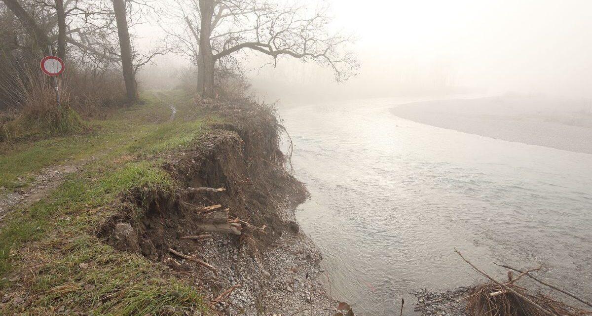 Si chiude il percorso pedonale e ciclabile a Castelnuovo Scrivia ma il Comune vara un intervento da 2 milioni di euro per l'ambiente. FOTO