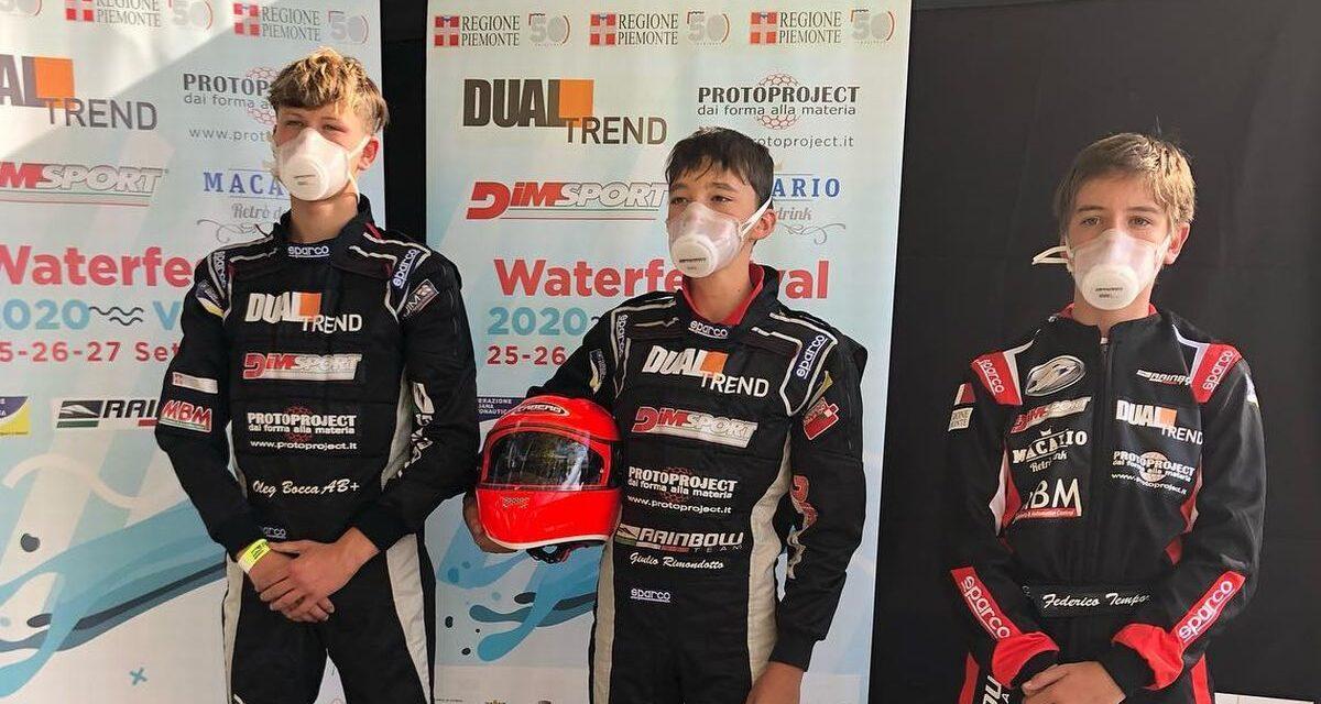 Tre giovani di Casale Monferrato ai vertici del Campionato italiano di Motonautica