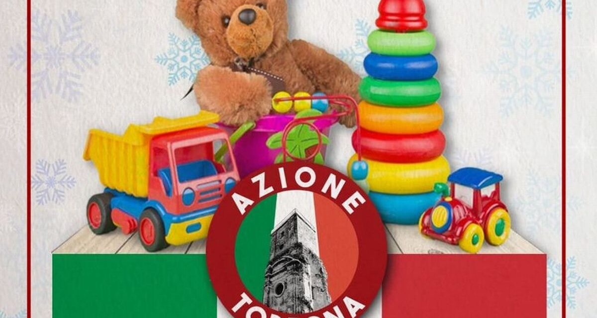 Per Natale Azione Tortona raccoglie giocattoli per i bambini. Domani e domenica