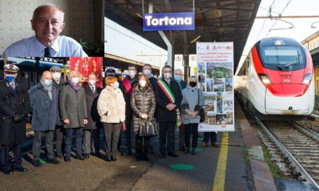 """""""La fermata A Tortona dell'Eurocity Zurigo-Genova è un evento storico"""""""