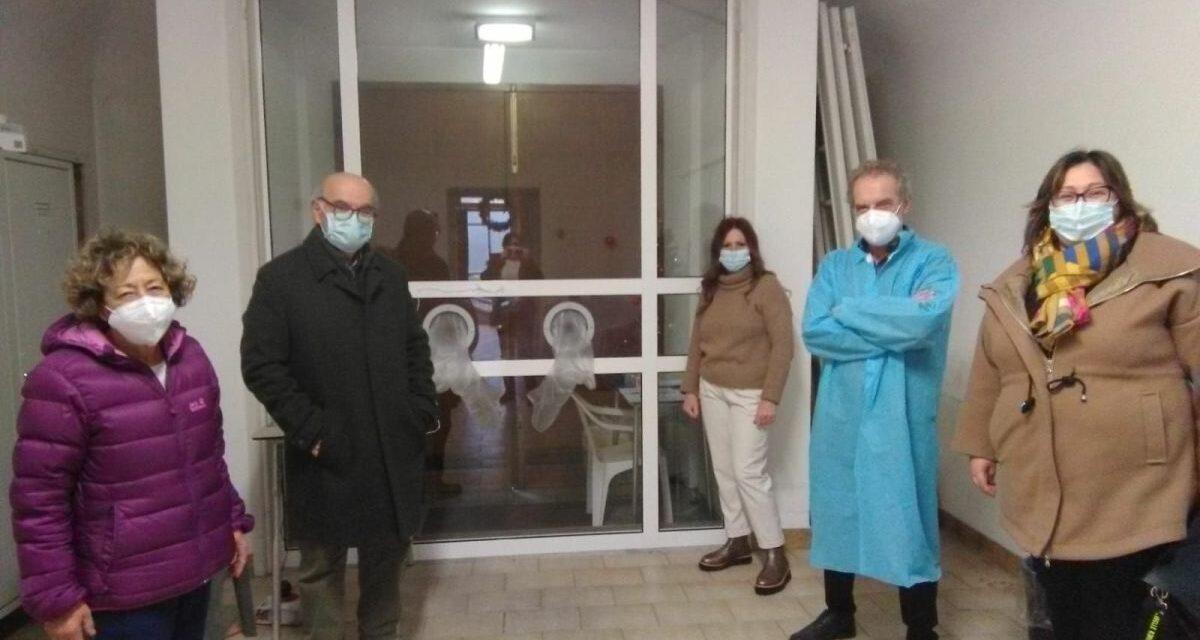 """Dopo il Mater Dei anche Pontecurone e Castelnuovo inaugurano la """"stanza degli abbracci"""" per gli anziani"""