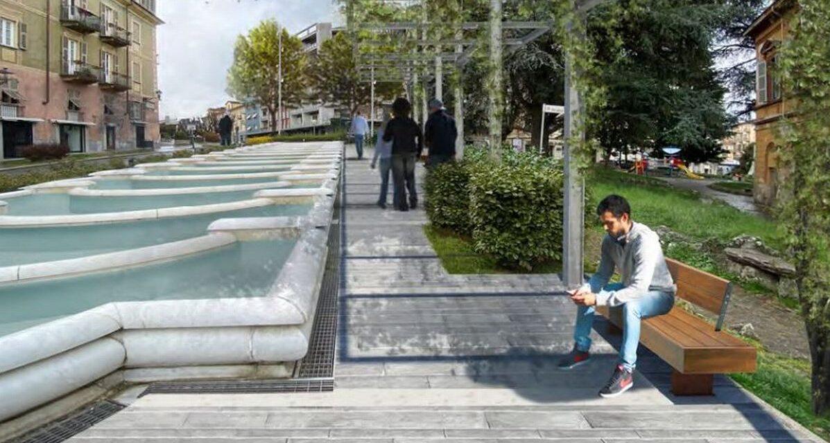 Ecco come sarà Piazza Italia ad Acqui Terme. Le prime immagini
