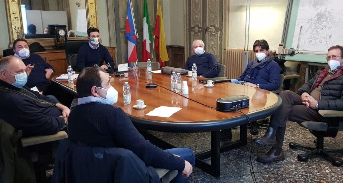 In Comune a Casale l'incontro tra i rappresentanti degli agricoltori e l'Aipo