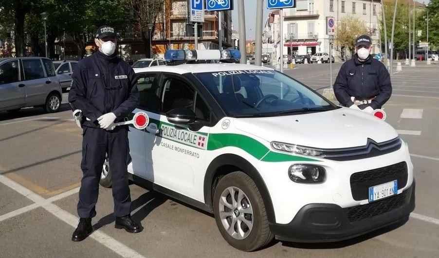 Polizia Locale di Casale: le attività del 2020 e la celebrazione del patrono San Sebastiano