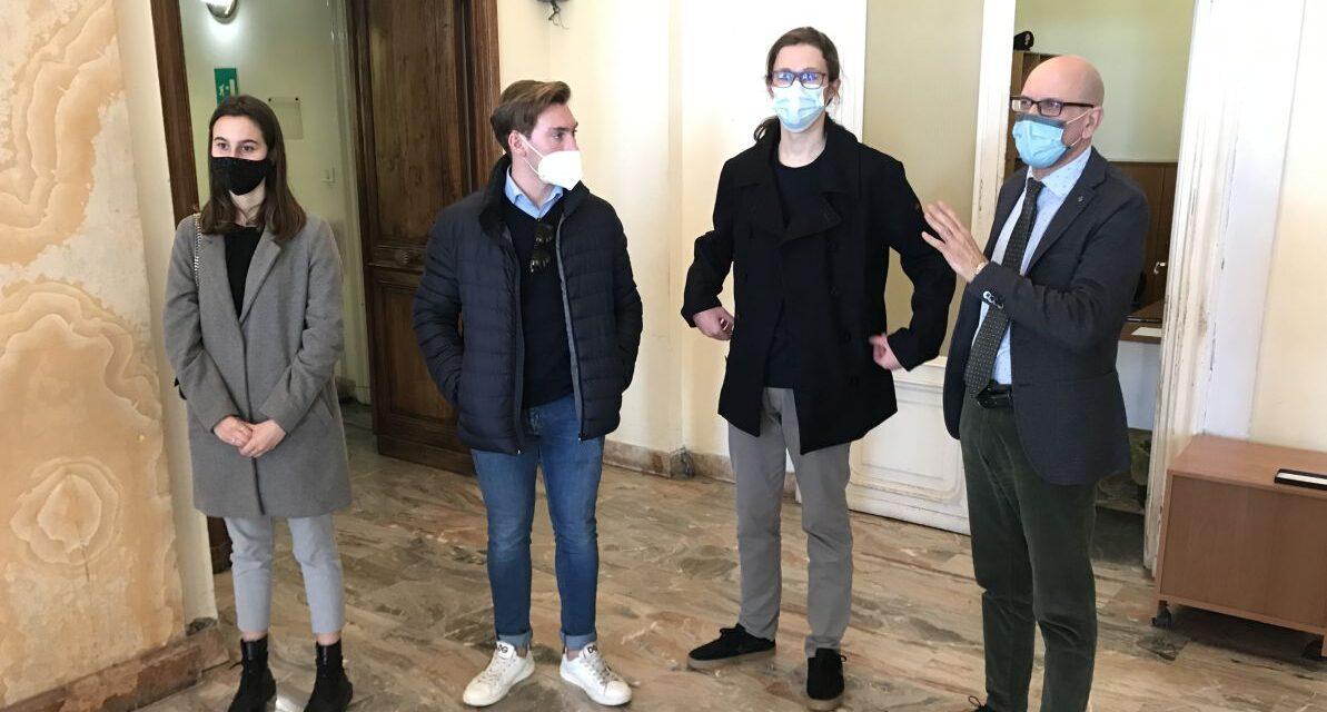 Il presidente della Provincia di Imperia ha incontrato una delegazione di studenti