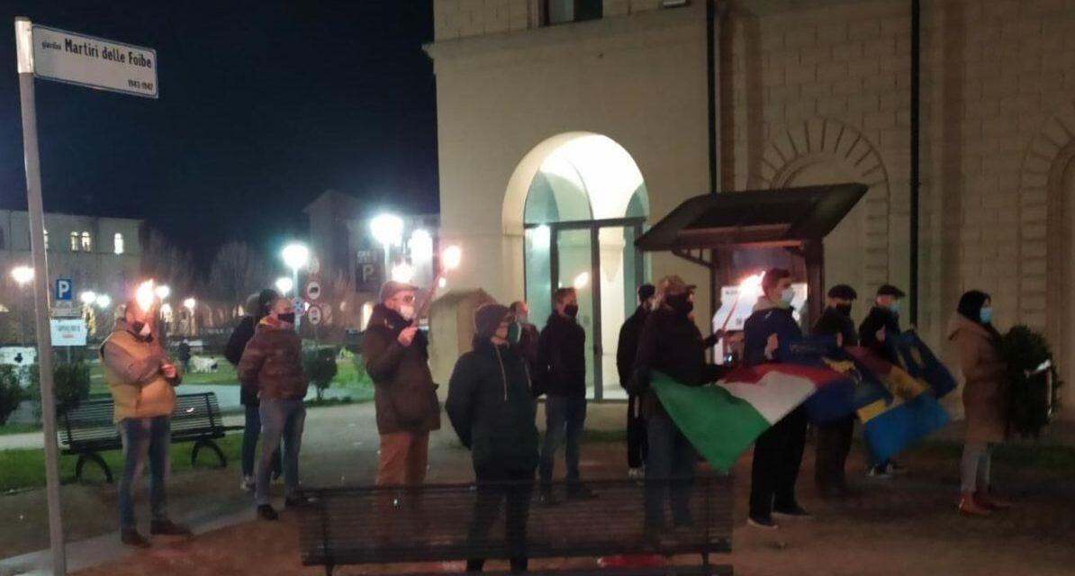 Azione Tortona ha ricordato le vittime delle Foibe e gli esuli alla ex Caserma
