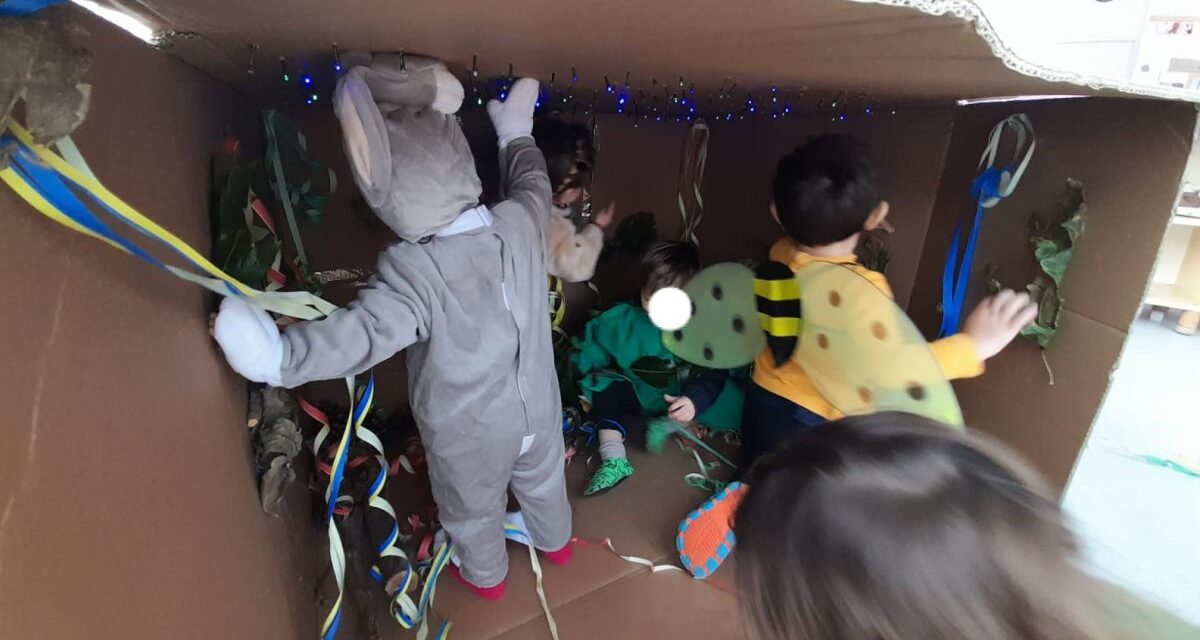 Carnevale in una buca per i bimbi di San Bartolomeo al mare