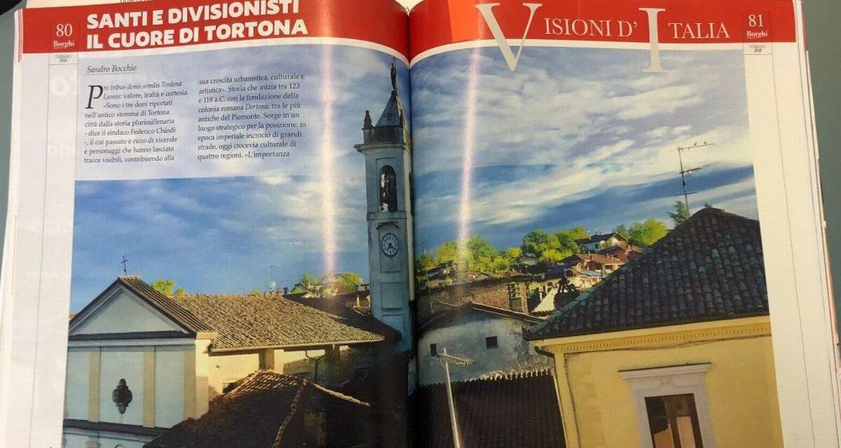 """Il mensile """"Borghi & Città"""" dedica un bel servizio a Tortona, alle sue bellezze e ai suoi prodotti"""