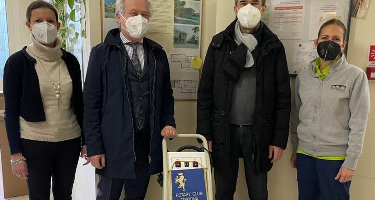 Il Rotary di Tortona ha donato due sanificatori a Castelnuovo e Casalnoceto