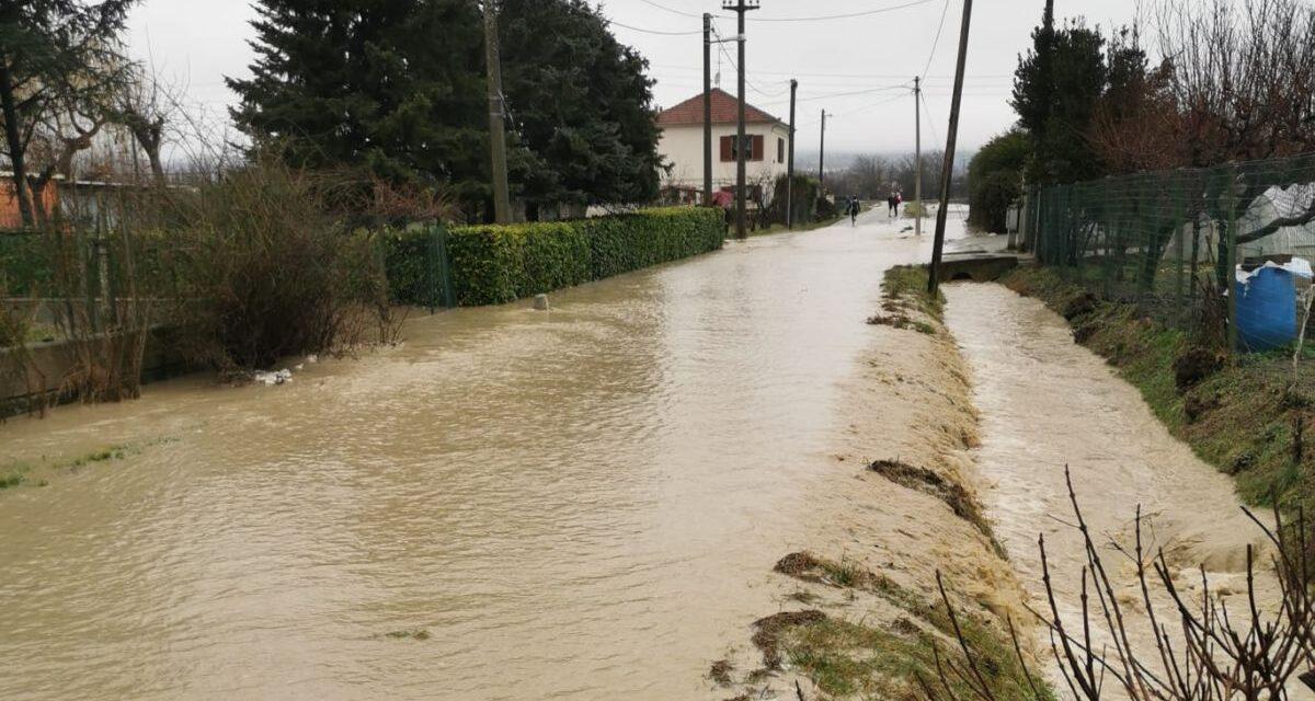 Esondato di nuovo iltorrente Gattoa a Casale Monferrato