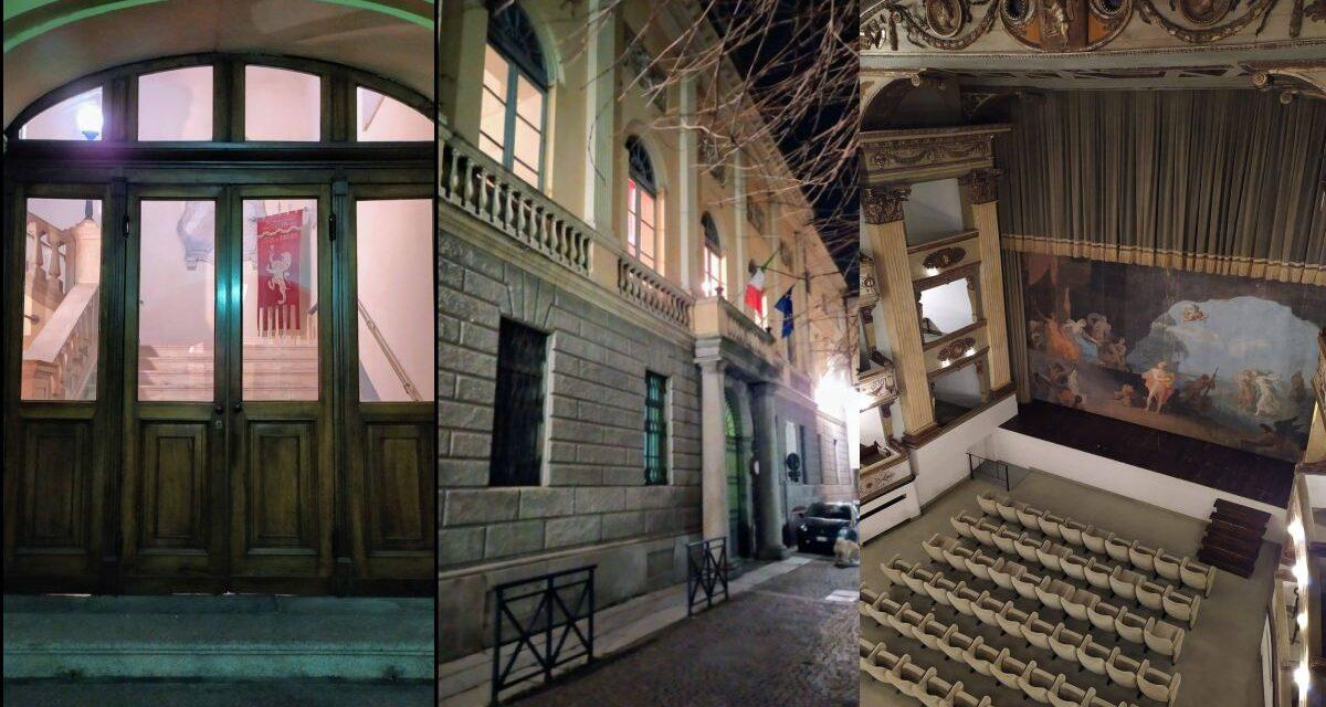 """Luci accese al """"Civico"""" di Tortona per una tristezza infinita di un Covid che ci ha cambiato la vita"""
