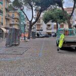 Aperto il cantiere per le opere di riqualificazione di Piazza Maglione a Diano Marina
