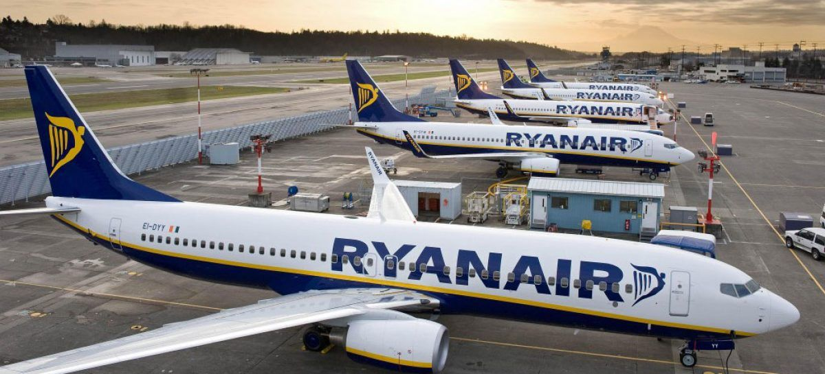Ryanair guarda all'inverno con ottimismo: oltre 700 rotte nel network