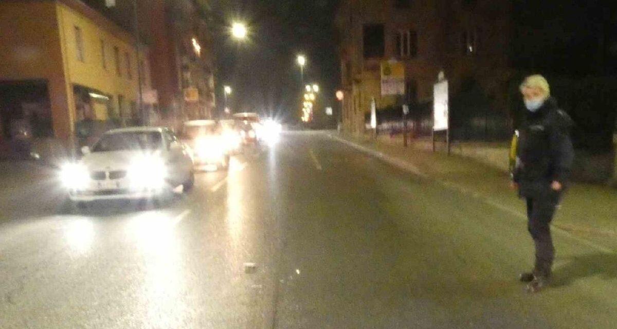 A Casale Incidente stradale con fuga e omissione di soccorso, la Polizia Locale lo individua
