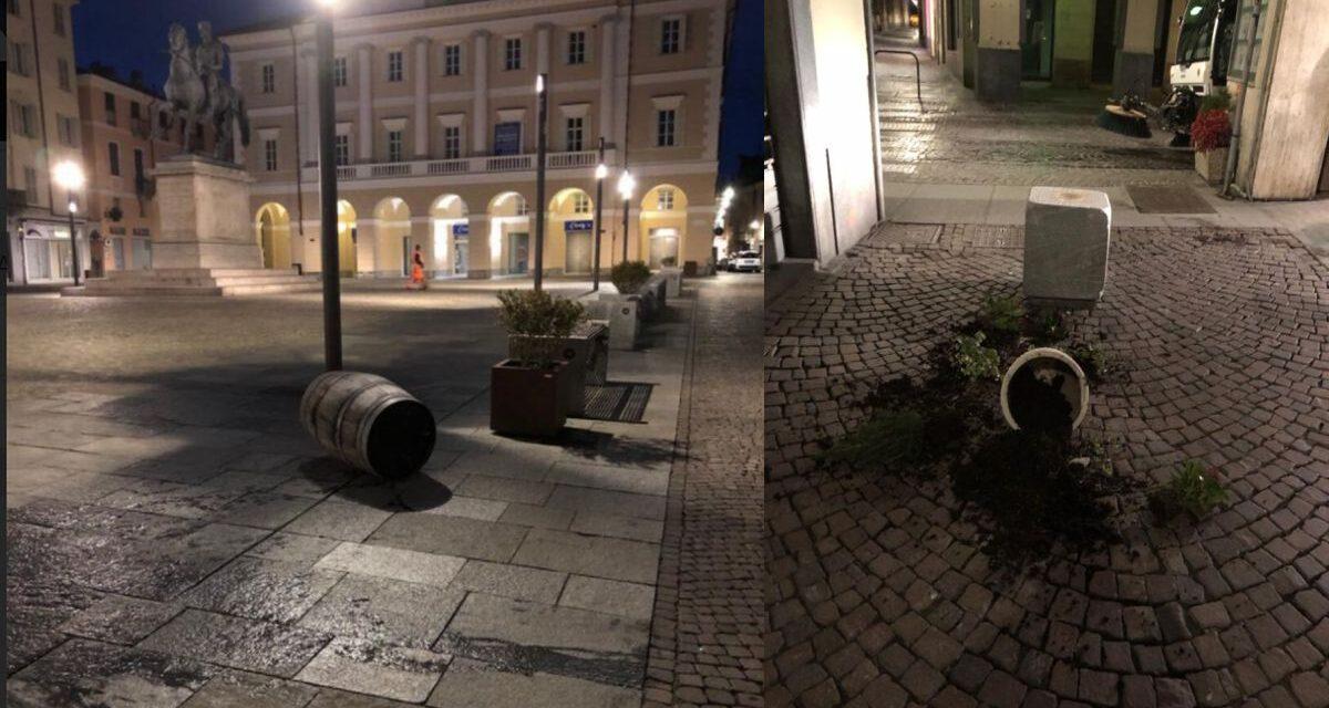 Individuato l'autore di questi atti di vandalismo a Casale Monferrato