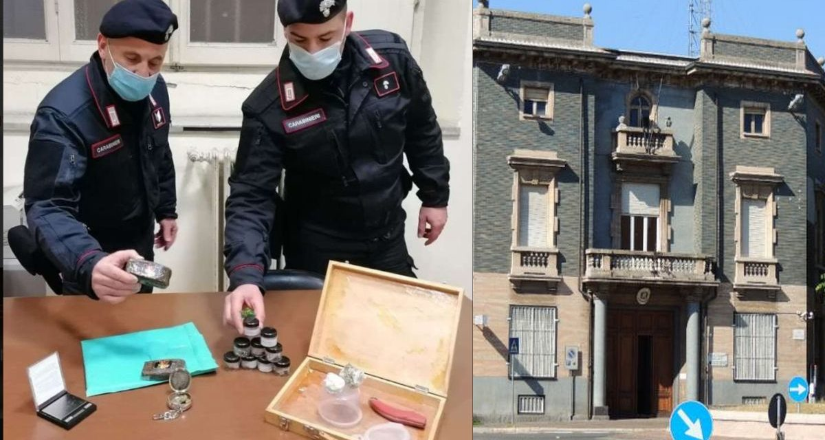 Giovane di Tortona acquista droga per posta dalla Spagna ma viene scoperto dai Carabinieri